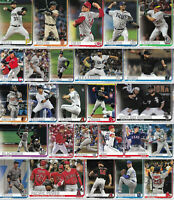 Pre-Sell 2019 Topps Update Baseball Cards Complete Your Set U Pick US151-US300