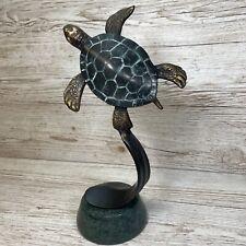 More details for spi san pacific intl international single turtle brass figure rare sculpture