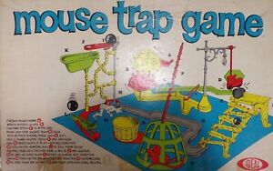 Mouse Trap Board Game (1963 / 1970 Version Ideal) Parts Only - You Choose