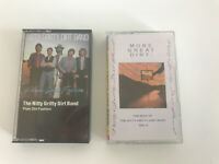 Nitty Gritty Dirt Band Lot Of 2 Cassettes Plain Dirt Fashion Best Of Vol. II 80s