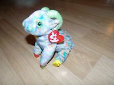 TY Beanie Baby Zodiac Goat Bean Bag Plush Animal with Tags Retired