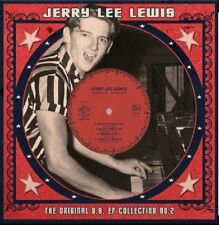 "JERRY LEE LEWIS - ORIGINAL U.S. EP COLLECTION NO 2 LIMITED WHITE 10"" VINYL NEW"