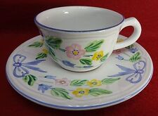 HEREND VILLAGE china BOW pattern Cup & Saucer Set - 2-1/4""