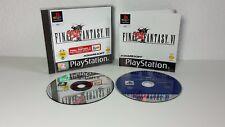 Final Fantasy VI + Final Fantasy X Demo (Sony PlayStation 1, 2002)