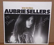 Aubrie Sellers New City Blues autographed signed 2 LP vinyl record 2016 gatefold