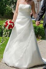 Hochzeitskleid Brautkleid Ladybird Creme Größe 38