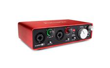 Focusrite Scarlett 2i2 2nd Gen Audio Interface includes Ableton Live Lite