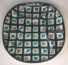 selten Teller unterteilte r.p. Robert Picault Vallauris vintage 21 cm N7