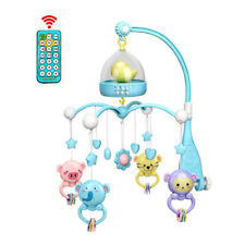 Baby Musical Playing Funny Educational Toy Set Rattles Night Lights Bed Cot Bell