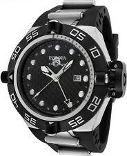 New Men's Invicta 1153 Subaqua Noma IV Swiss GMT Black Dial Polyurethane Watch