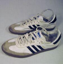 Adidas Samba Mens Shoes 13.5 White Classic Black Stripes Lace Up