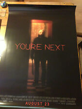 SDCC 2013 YOU'RE NEXT FROM LIONSGATE BOOTH HUGE 27 X 40 INCH POSTER VERY RARE