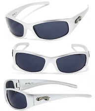 Mens Choppers Outdoors Bikers Sport Motocycle Wrap Sunglasses - Silver C24 Word