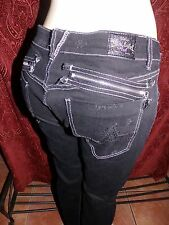 """**Black Label Pink Distress JEANS **SEXY & IN STYLE~SIZE 31~~34"""" X 31""""Stretch~"""
