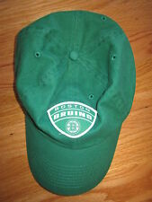 Old Time Hockey BOSTON BRUINS (Adjustable) Cap GREEN w/ 3 Leaf Clover