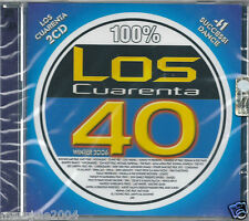 Los 40 Cuarenta Winter 2006 (2006) 2CD NUOVO Bob Sincler. Tommy Vee. Alma Latina
