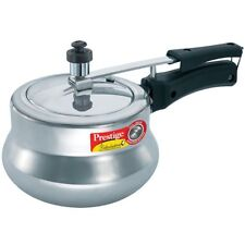 Prestige Nakshatra Plus Induction & Gas Aluminum Pressure Cooker 2 L Inner Lid