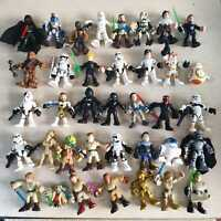 "2.5"" Playskool Star Wars Galactic Heroes Emperor Yoda Action Figures Toys Kid"
