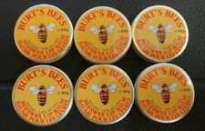 (6-packed) Burt's Bees Beeswax Lip Balm Tin,  (0.3 Oz) Packed 2015 or 2016