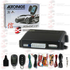 2017 AUTOPAGE REMOTE START WITH 4-BUTTON LCD REMOTE  2-WAY KEYLESS ENTRY