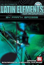 LATIN ELEMENTS FOR THE DRUM SET MUSIC BOOK/CD BRAND NEW RARE OUT OF PRINT SALE!!