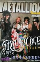 METALLION Magazine MOTLEY CRUE SPECIAL