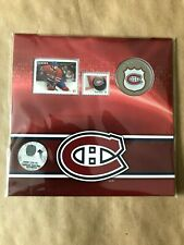 2014 25-CENT NHL COIN AND STAMP GIFT SET MONTREAL CANADIENS