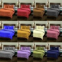 1000 TC Egyptian Cotton Solid Color US Size Sheet Set/Pillow/Fitted/Flat Sheets