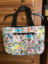 New LeSportSac Hawaii Onolicious Reversible Tote Handbag Hula Girl Spam Musubi