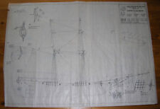 CARTA Augusto BALTIMORE CLIPPER vintage plan Italy wooden boat model