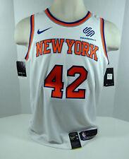 Mens New York Knicks Lance Thomas #42 White Assoc Jersey Swingman M Nike NWT