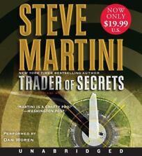 TRADER OF SECRETS CD by Steve Martini (English) CD UNABRIDGED NEW FREE SHIP