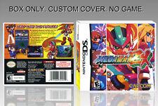 NINTENDO DS : MEGAMAN ZX. ENGLISH. COVER CUSTOM + ORIGINAL BOX. (NO GAME).