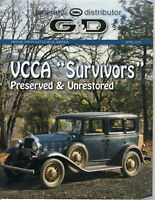 VCCA Survivors Preserved & Unrestored G & D Generator Distributor Magazine 2012