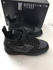 Nike W LF1 Flyknit Workboot black / black - white - cool grey EU 39, schwarz NEU