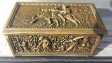 Ancient antique jewelry box