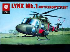 Lynx MK.1 - Aviación Ejército Británico (unidad antiterrorista), ZTS Plastyk, escala 1/72