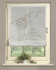 Digitaldruck Raffrollo 60/80/100/120x140 Portland bedrucktes Rollo natur Batist