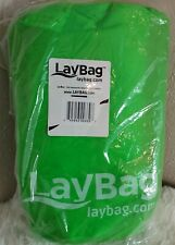 Durable LayBag Inflatable Air Lounge (Green)