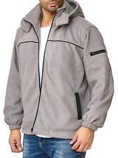 Chaqueta polar de hombre Camisa térmica leñador Sudadera con capucha transición