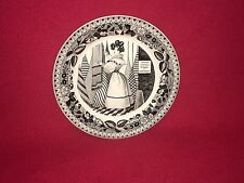 Antique Criel French Plate Fashion Dress Transfer Prix  Fixe Schales Choisy 1830