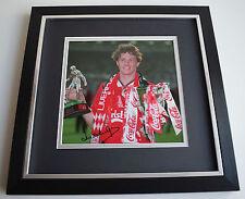 Steve McManaman SIGNED Framed LARGE Square Photo Autograph display AFTAL & COA
