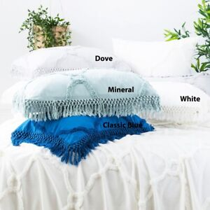 Park Avenue Moroccan Cotton Vintage washed Tufted Bed Cover|Coverlet set