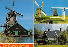BT1238 de zaanse schans windmolen windmill mill netherlands