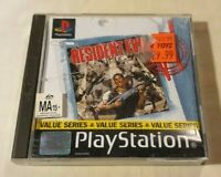 Resident Evil PS1 PlayStation One 1996 Survival Horror CAPCOM 2000 Value Series