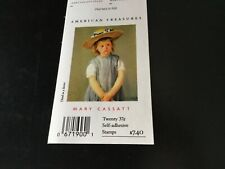 Mary Cassatt Stamps from Am. Treasures. Lovely .37 cent stamps