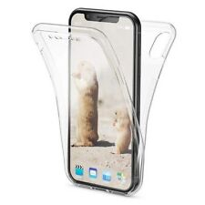 iPhone XR Clear Gel Case Cover Front & Back (F&B) New Shockproof 360° Stylish