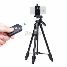 YUNTENG 5208 Light Weight Aluminum Tripod Bluetooth Remote fr iPhone Samsung