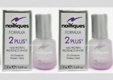 SALE! *2 BOTTLES *NAILTIQUES FORMULA 2 PLUS #1 FOR PROBLEM NAILS! NEW IN BOX!!