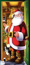 Santa Door Cover  Christmas Decoration